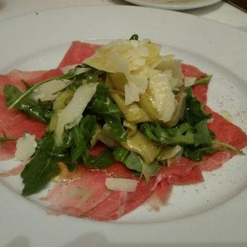 Photo Of Da Pasquale Restaurant Beverly Hills Ca United States Carpaccio