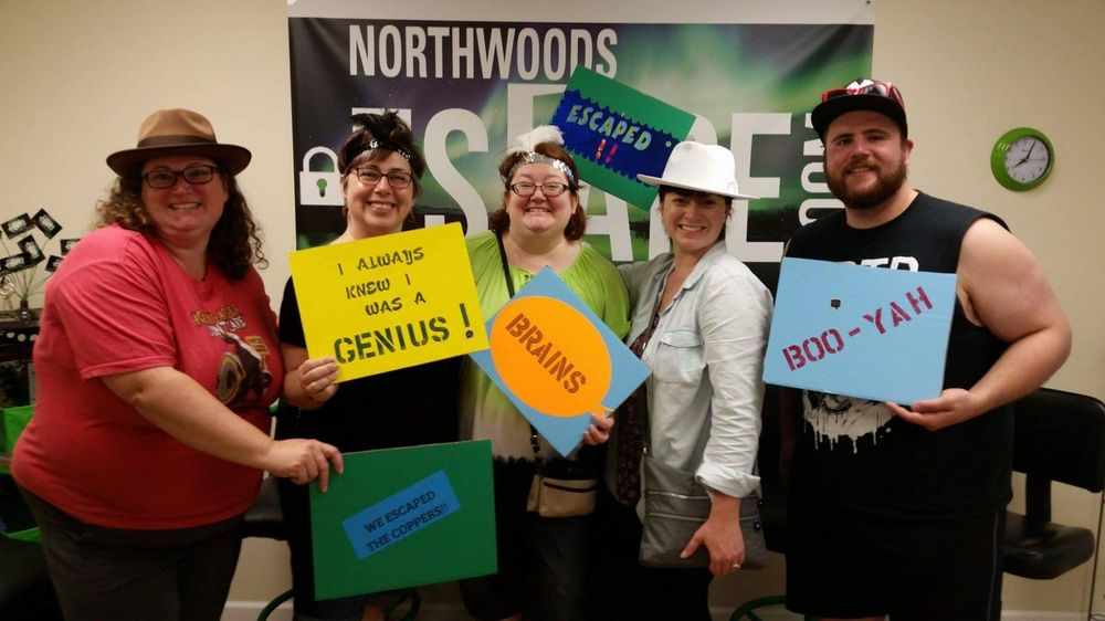 Northwoods Escape room: 332 W Pine St, Eagle River, WI