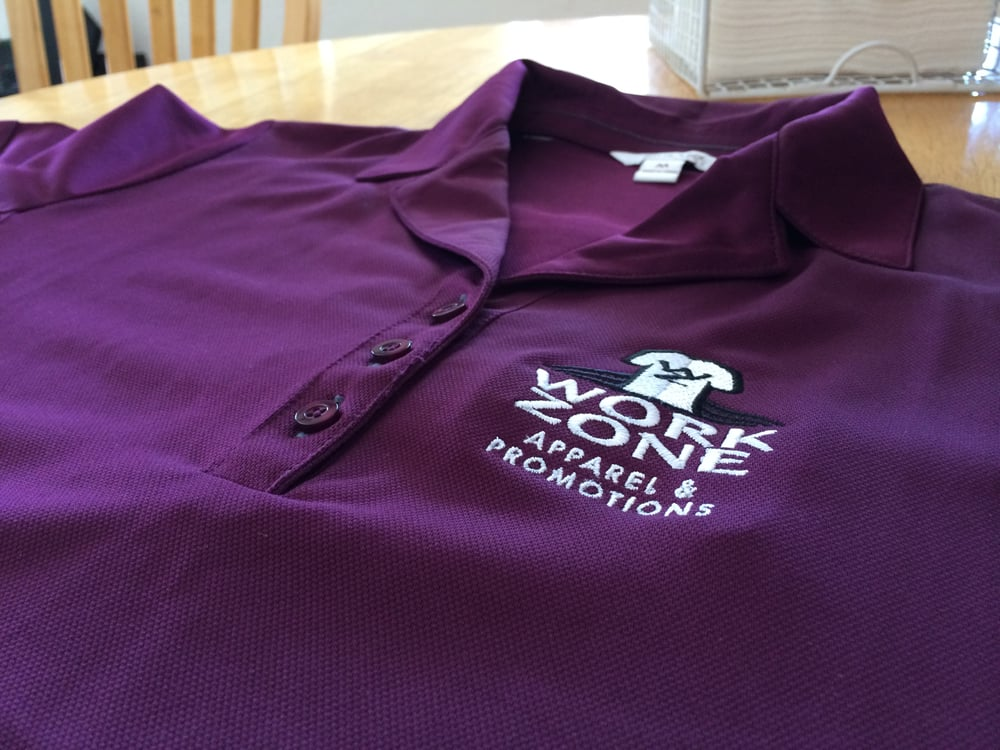 Work zone apparel and promotions closed screen for Work t shirt printing