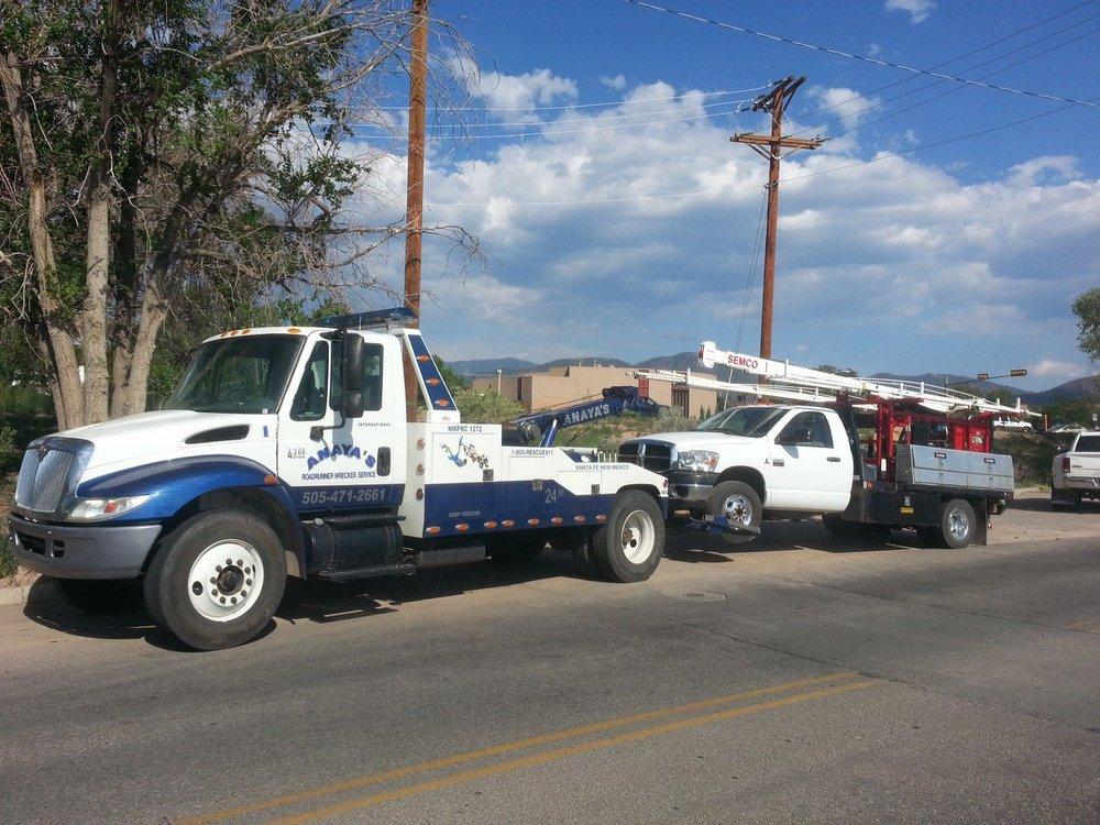 Anaya's Roadrunner Wrecker Service: 2876 Industrial Rd, Santa Fe, NM
