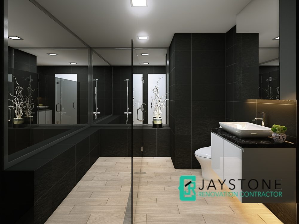 Bathroom toilet Renovation Contractor Singapore Parc Oasis Jurong ...