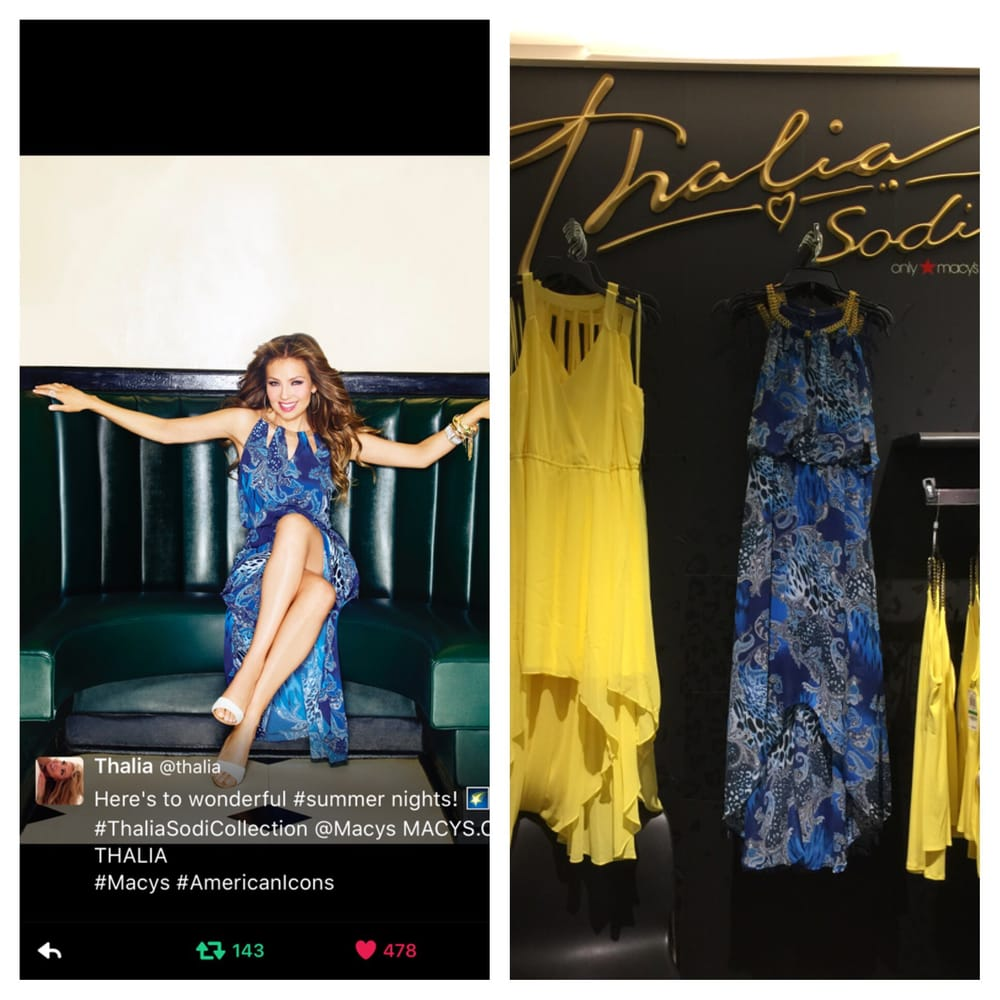 The beautiful Thalia\'s clothing line at Macy\'s. - Yelp