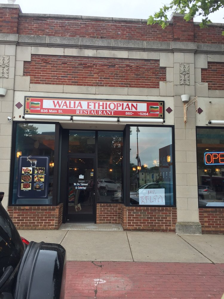 Walia Ethiopian Restaurant: 836 Main St, Manchester, CT