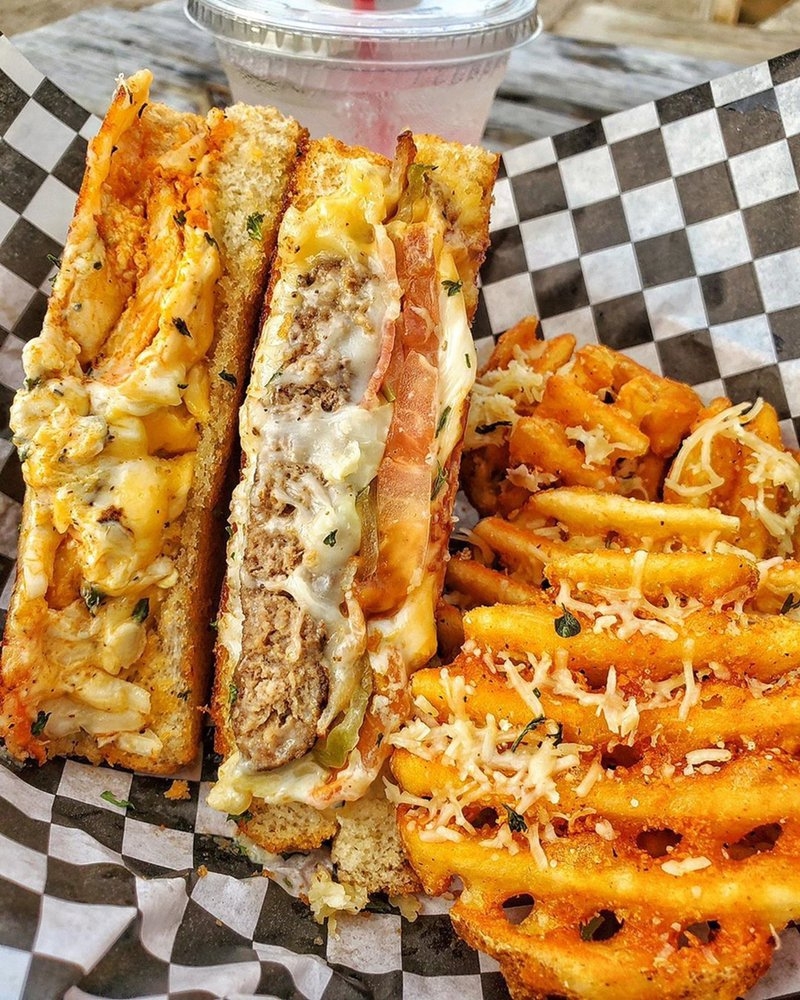 Twisted Grilled Cheese: 8131 Jones Rd, Jersey Village, TX