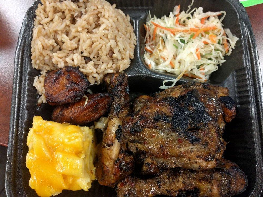 Food from Caribbean Cabana
