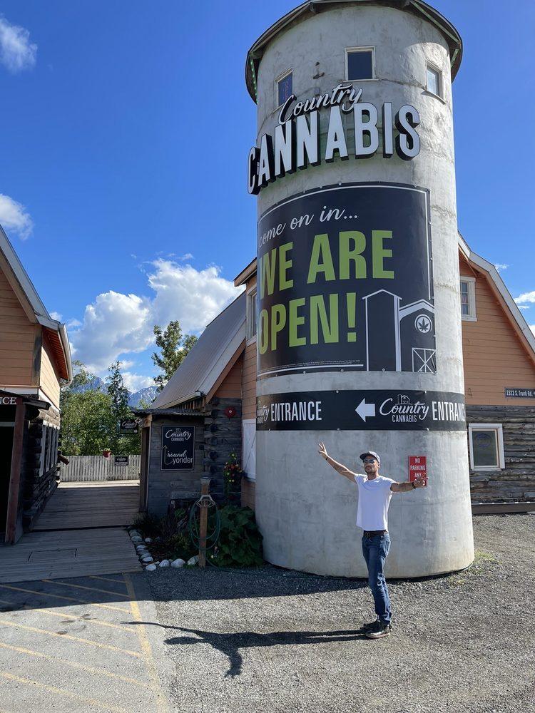 Country Cannabis: 2323 Trunk Rd, Palmer, AK