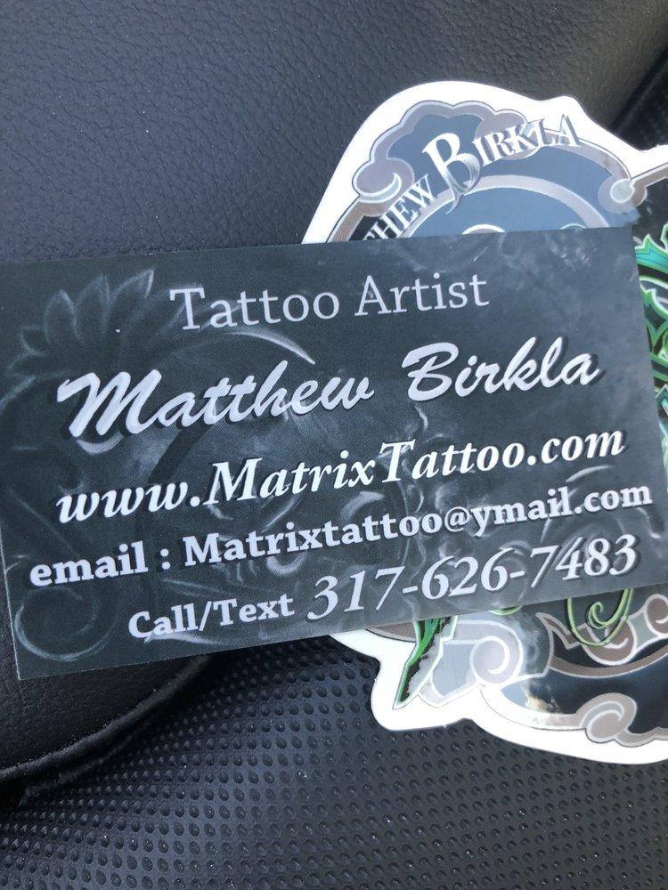 Matrix tattoo: 4602 Commercial Way, Spring Hill, FL