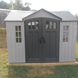photo of playtime assembly greenville sc united states 10x8 life time shed - Garden Sheds Greenville Sc