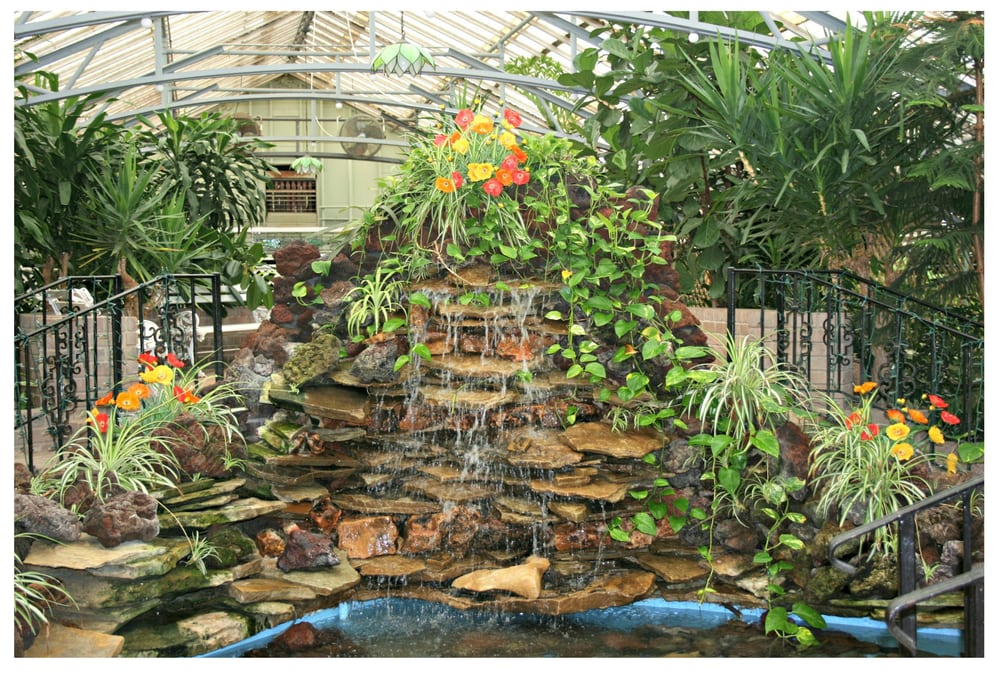 Our Stunning Indoor Waterfall This Lush Tropical Garden Wedding Venue Is The Perfect Location