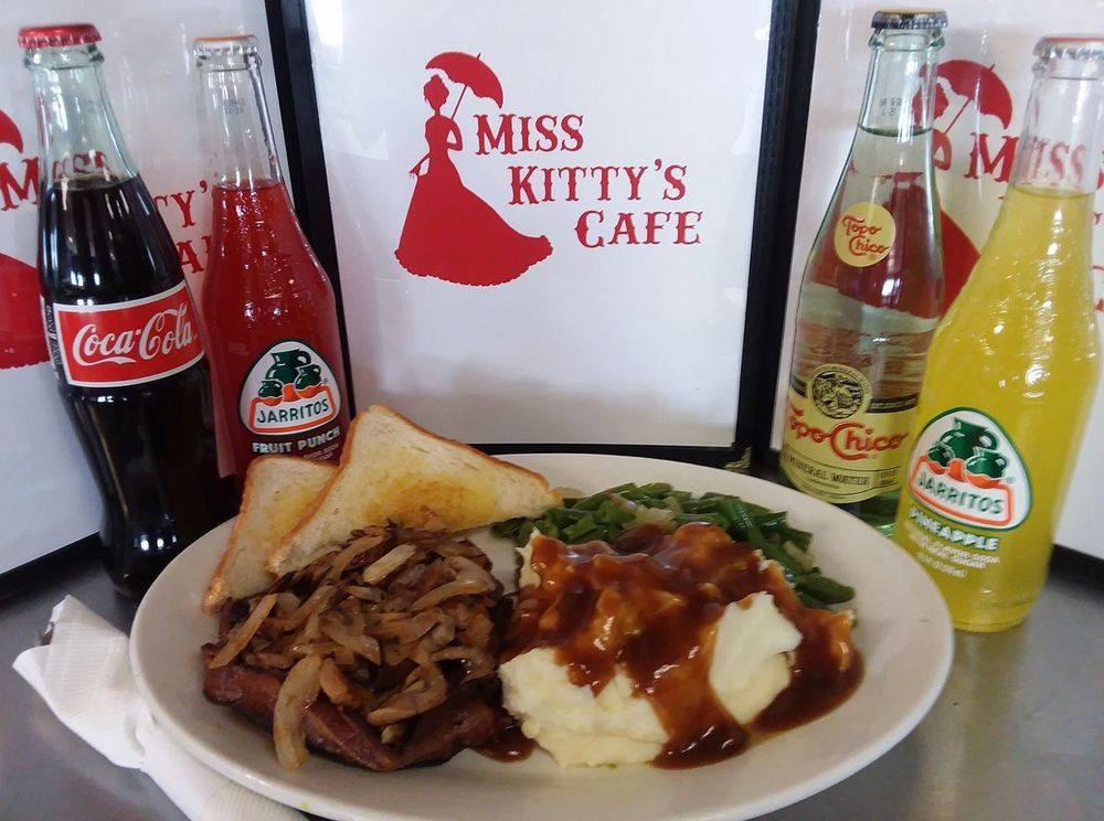 Miss Kitty's Cafe: 2110 E Wyatt Earp Blvd, Dodge City, KS