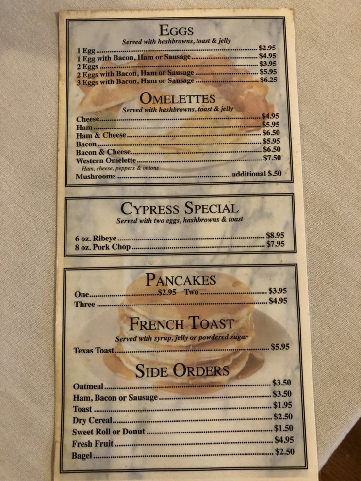 Cypress Restaurant & Lounge: 1222 Broadway, Highland, IL