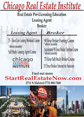 Chicago Real Estate Institute 2711 N Halsted St Chicago, IL