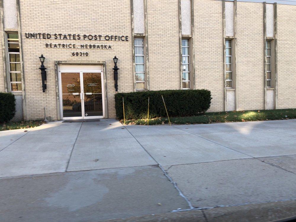 US Post Office: 425 N 6th St, Beatrice, NE
