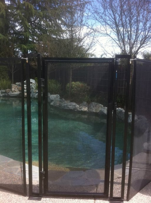 Baby Barrier Pool Fencing: 857 El Cerro Blvd, Danville, CA