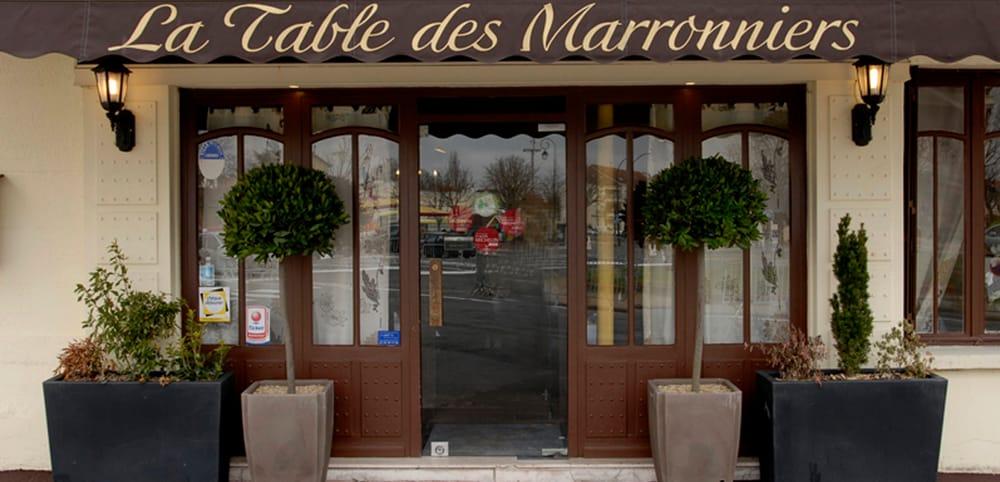 La table des marronniers comida francesa 8 place des for Garage place des marronniers saint maur