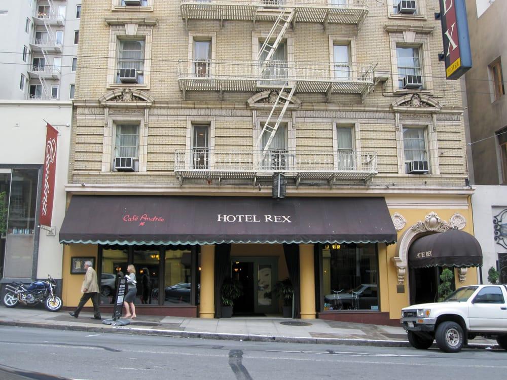 Hotel Rex San Francisco Reviews