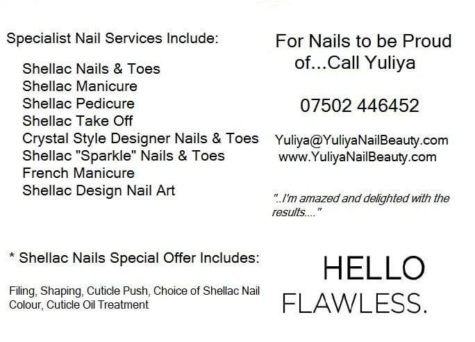 Yuliya Nail Beauty - Nail Salons - 15 Drifters Drive, Deepcut ...
