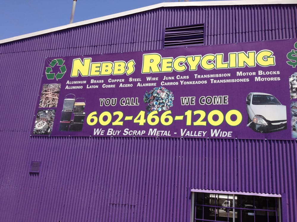Sell or Buy Scrap Metal - Recycling Center - 1966 W Broadway Rd ...