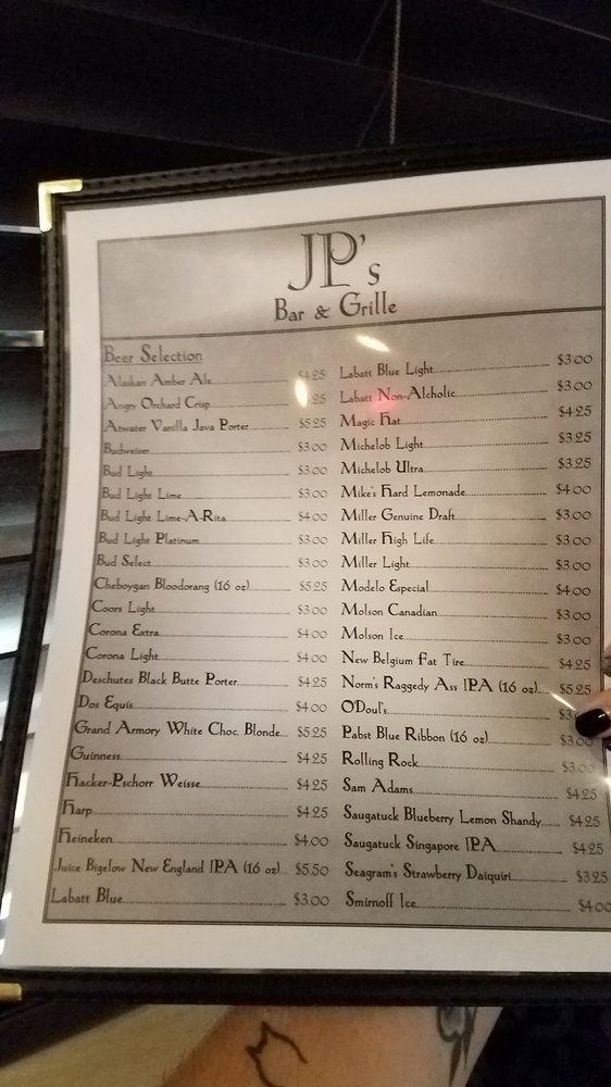 JP's Bar & Grille: 22145 W Outer Dr, Dearborn, MI