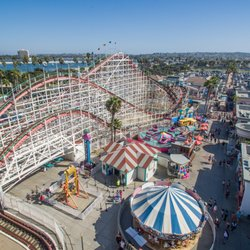 Mission Beach Roller Coaster San Diego The Best Beaches