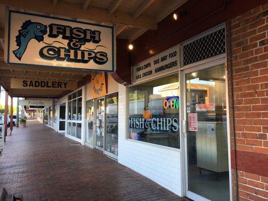 P O Ofa Fish Shop Abara N New South Wales Australia