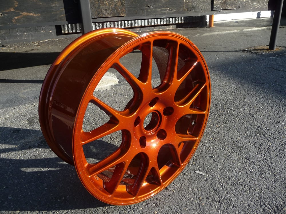 Photo Of Metro Powder Coating Bladensburg Md United States Starbrite Burnt Copper