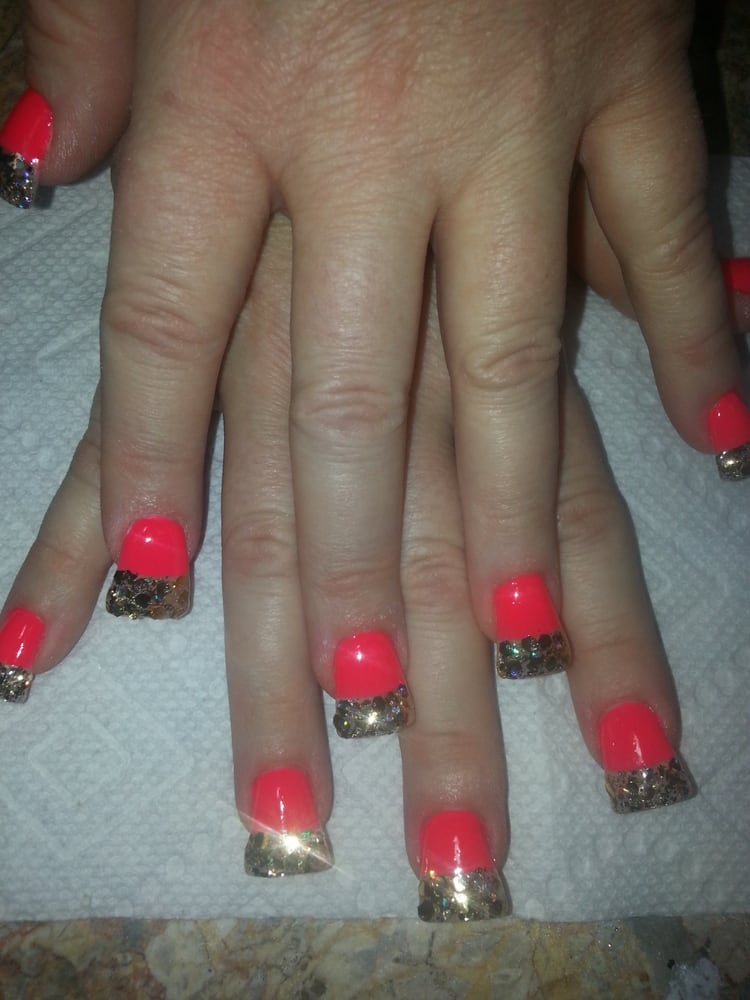 Duck feet fullset nails - Yelp