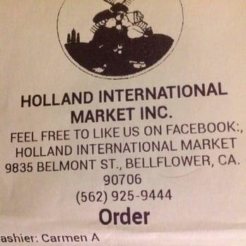 Holland International Market - 9835 Belmont St, Bellflower