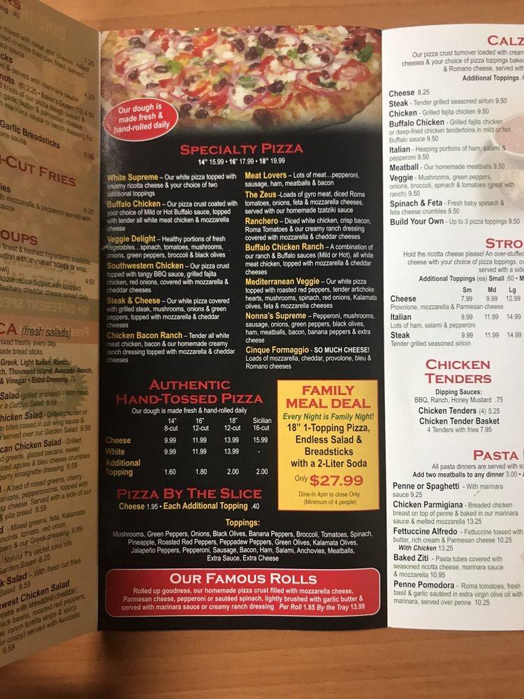 Nonna T's Cucina: 808 Caldwell Ave, Portage, PA