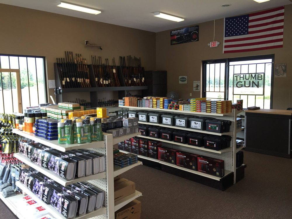 Thumb Gun and Outfitters: 5945 Van Dyke Rd, Almont, MI