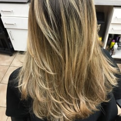 Photo Of Hair Cuttery Coconut Creek Fl United States Ombré And Balayge