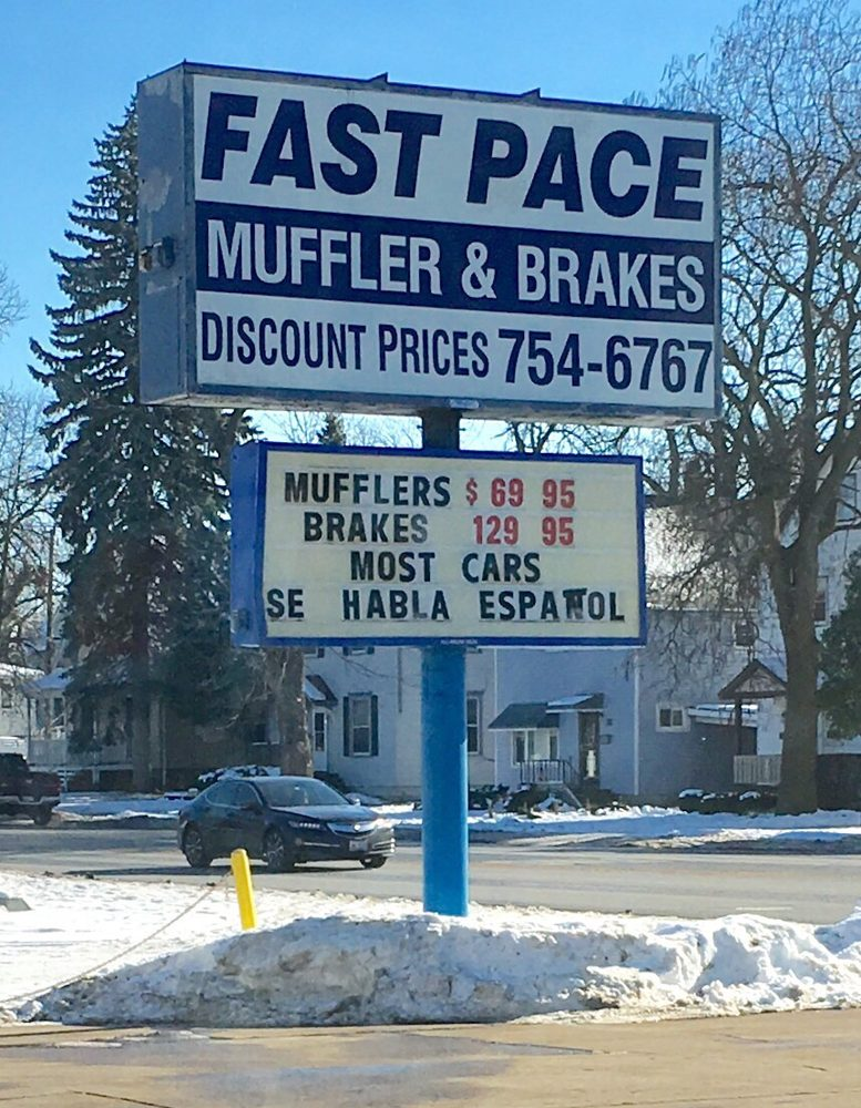 Fast Pace Muffler & Brake: 203 W 14th Pl, Chicago Heights, IL