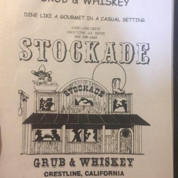 Stockade Restaurant Crestline Ca Menu