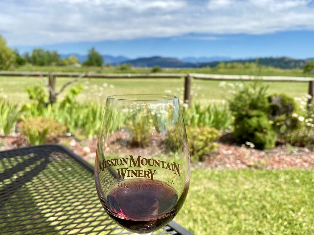 Mission Mountain Winery: 82420 US Hwy 93, Dayton, MT