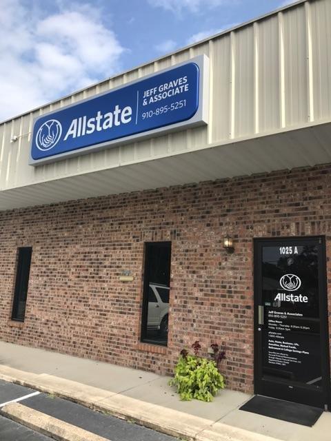 Jeff S Graves: Allstate Insurance: 1025A Rockingham Rd, Rockingham, NC