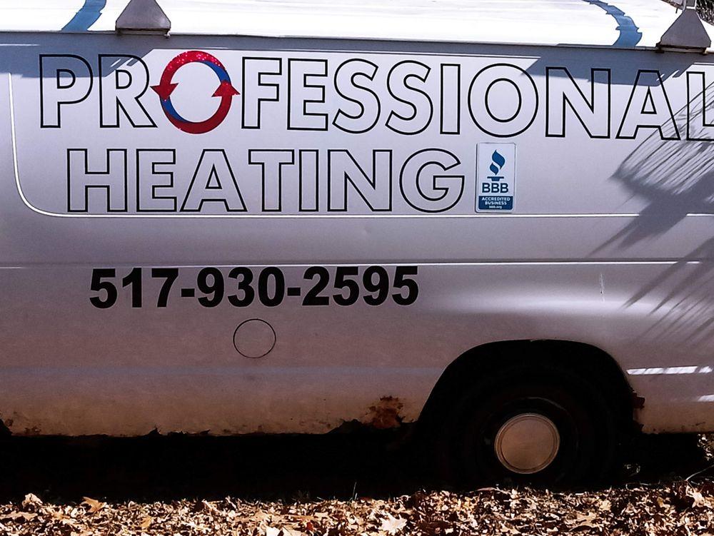 Professional Heating: 1760 Haynor Rd, Ionia, MI