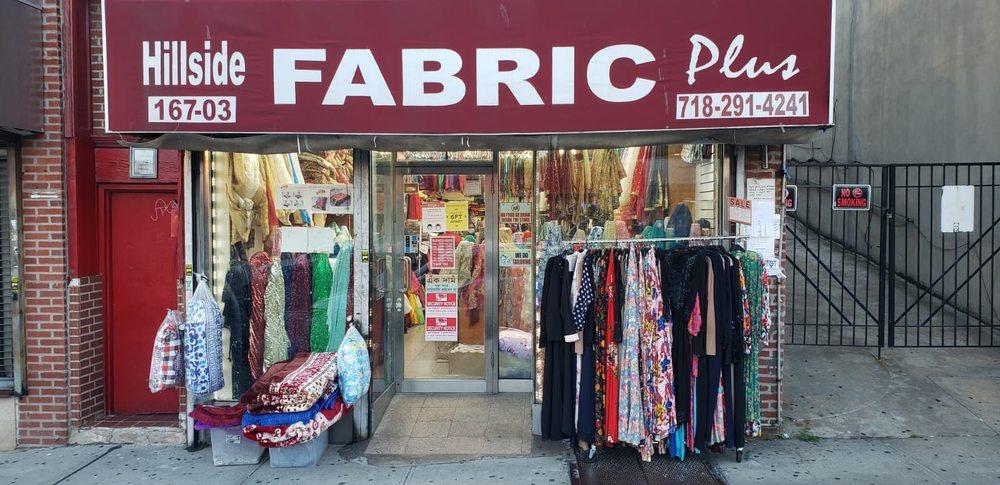 Hillside Fabric Plus: 167-03 Hillside Ave, Queens, NY
