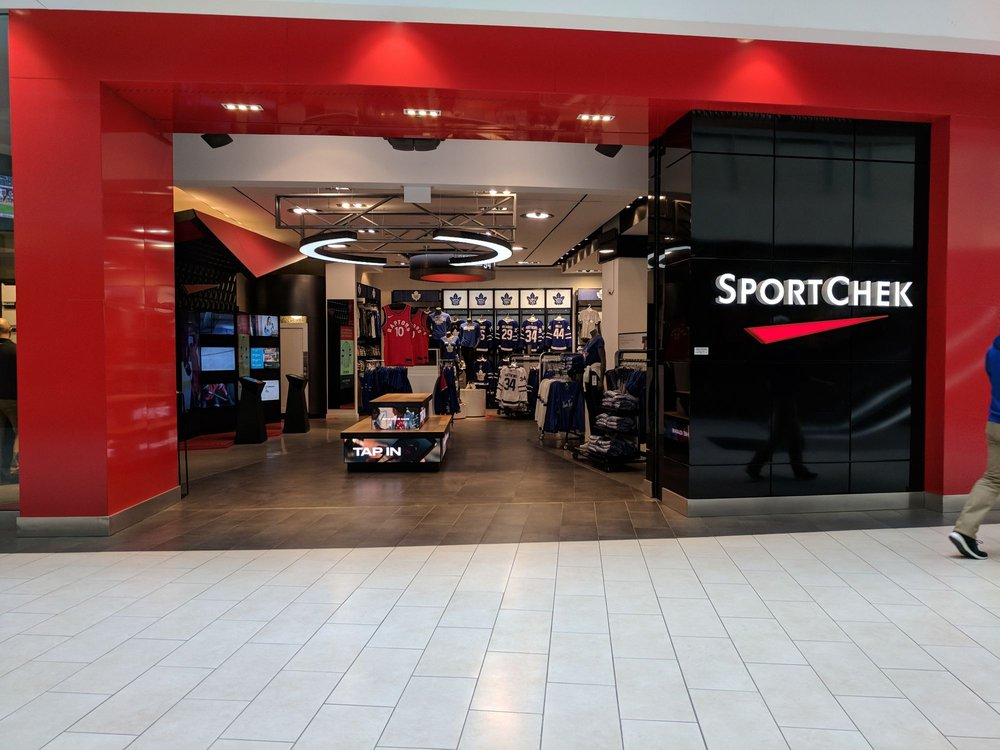 sport chek locations toronto