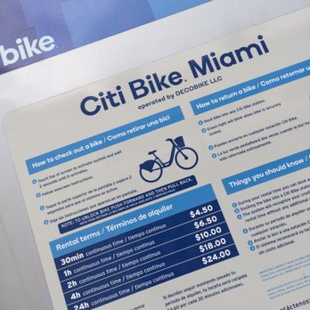 Citi Bike Miami >> Citi Bike 47 Reviews Bike Rentals 723 Washington Ave Miami