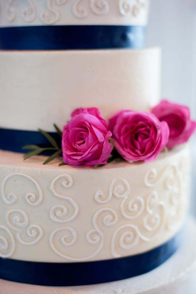 navy blue and light pink wedding cake coconut wedding cake for a pink and navy wedding yelp 17753