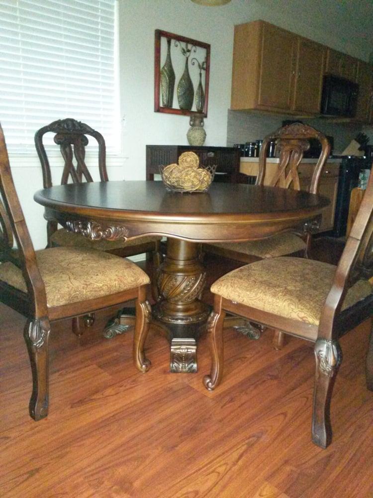 Photo Of La Sierra Home Furniture Houston Tx United States Pedestal Dining