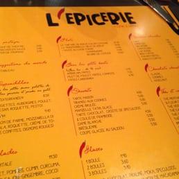 L picerie cuisine europ enne moderne rue des cygnes for Bar belge maison alfort
