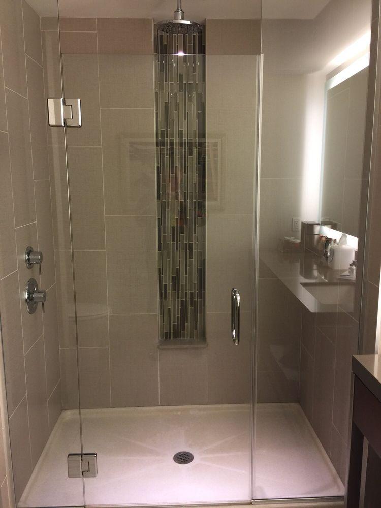 Shower with rainfall shower head - Yelp