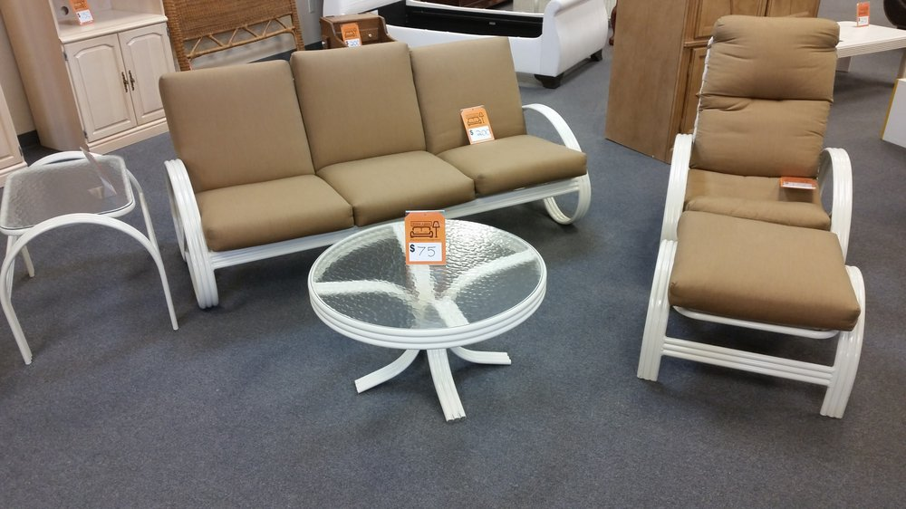 We need your outdoor furniture contact us via phone or for Consignment furniture clearwater