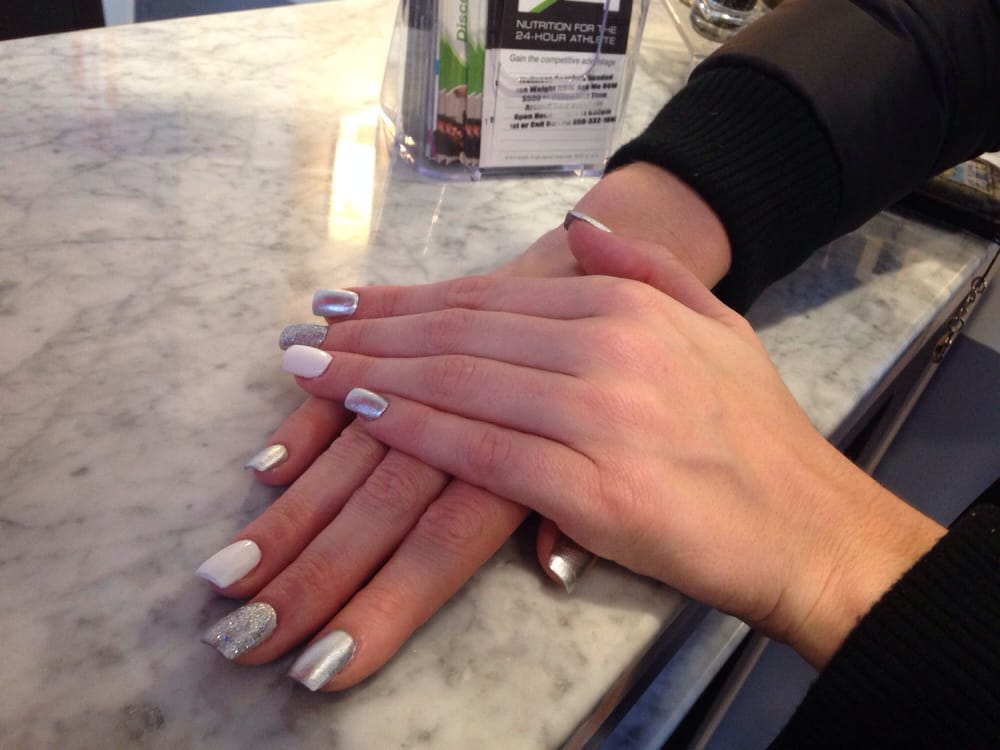 Winter nails- love it - Yelp