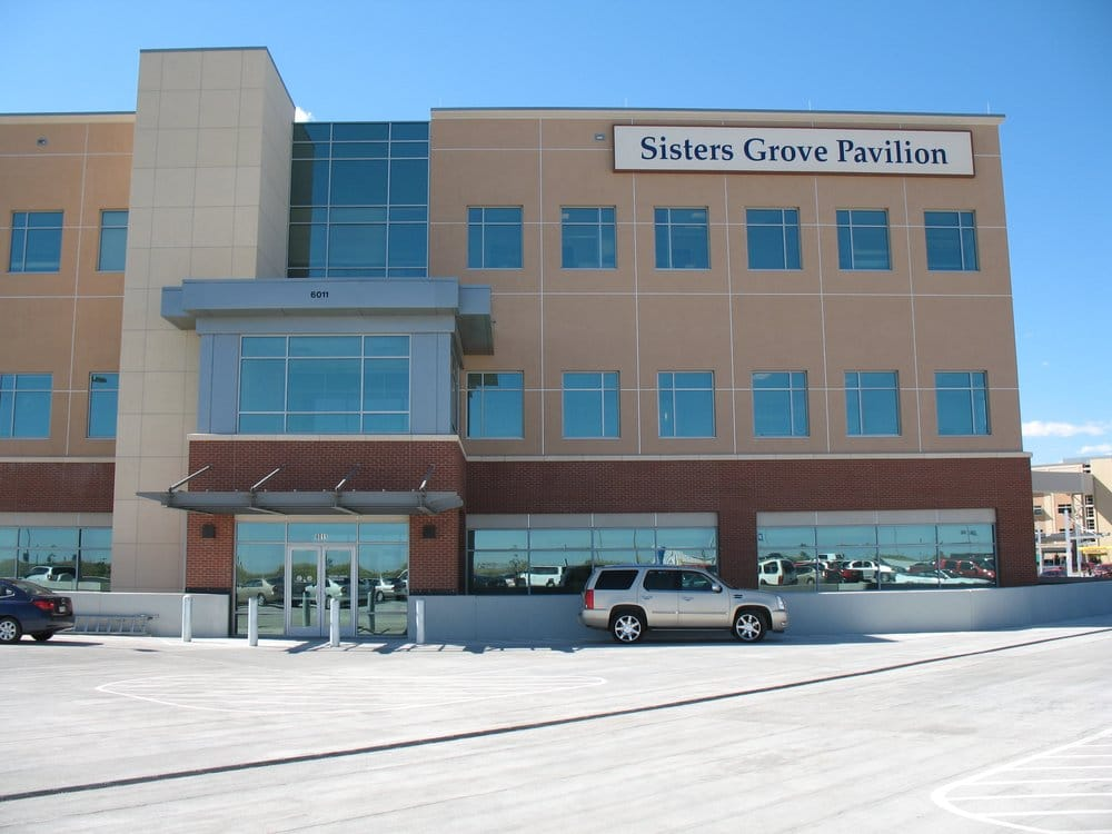 sisters grove pavilion located on the st francis medical center campus yelp. Black Bedroom Furniture Sets. Home Design Ideas