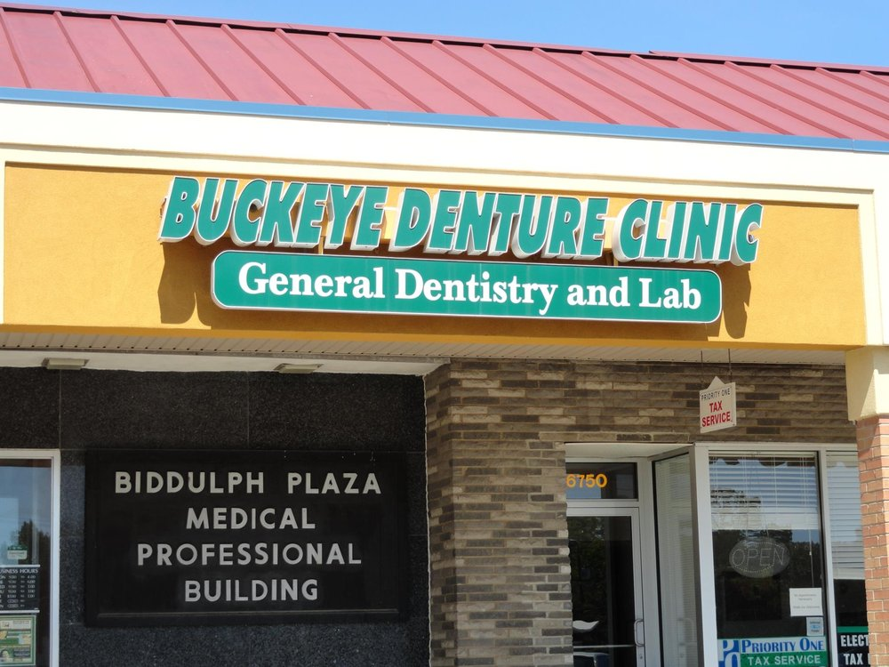 Buckeye Denture Clinic: 6750 Biddulph Rd, Brooklyn, OH