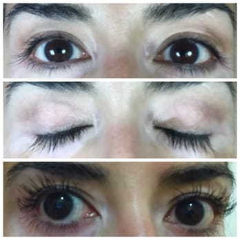 eyelash curler results. photo of lash and face by chi - san francisco, ca, united states. eyelash curler results