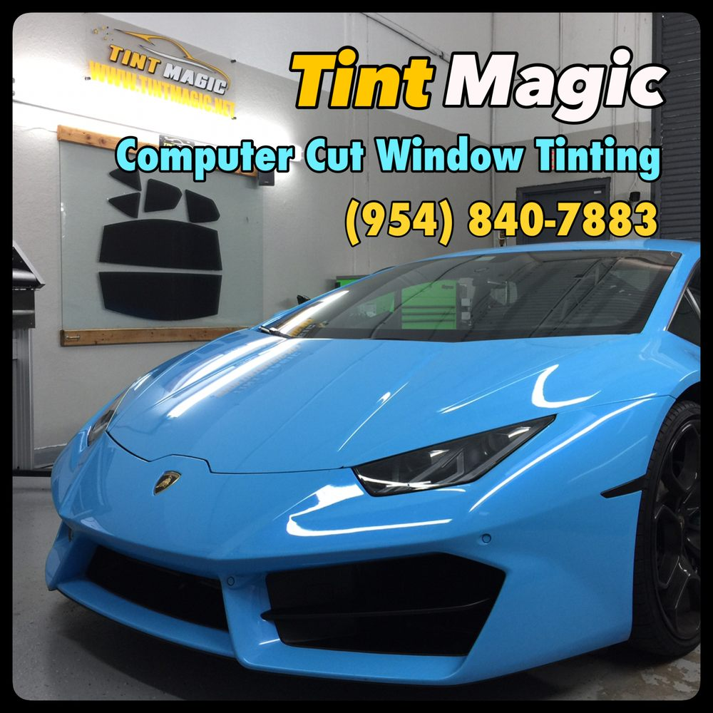 Tint Magic Window Tint: 11344 Wiles Rd, Coral Springs, FL