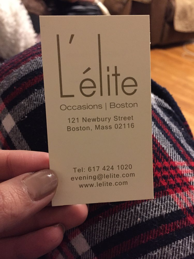 L'elite Occasions Boutique